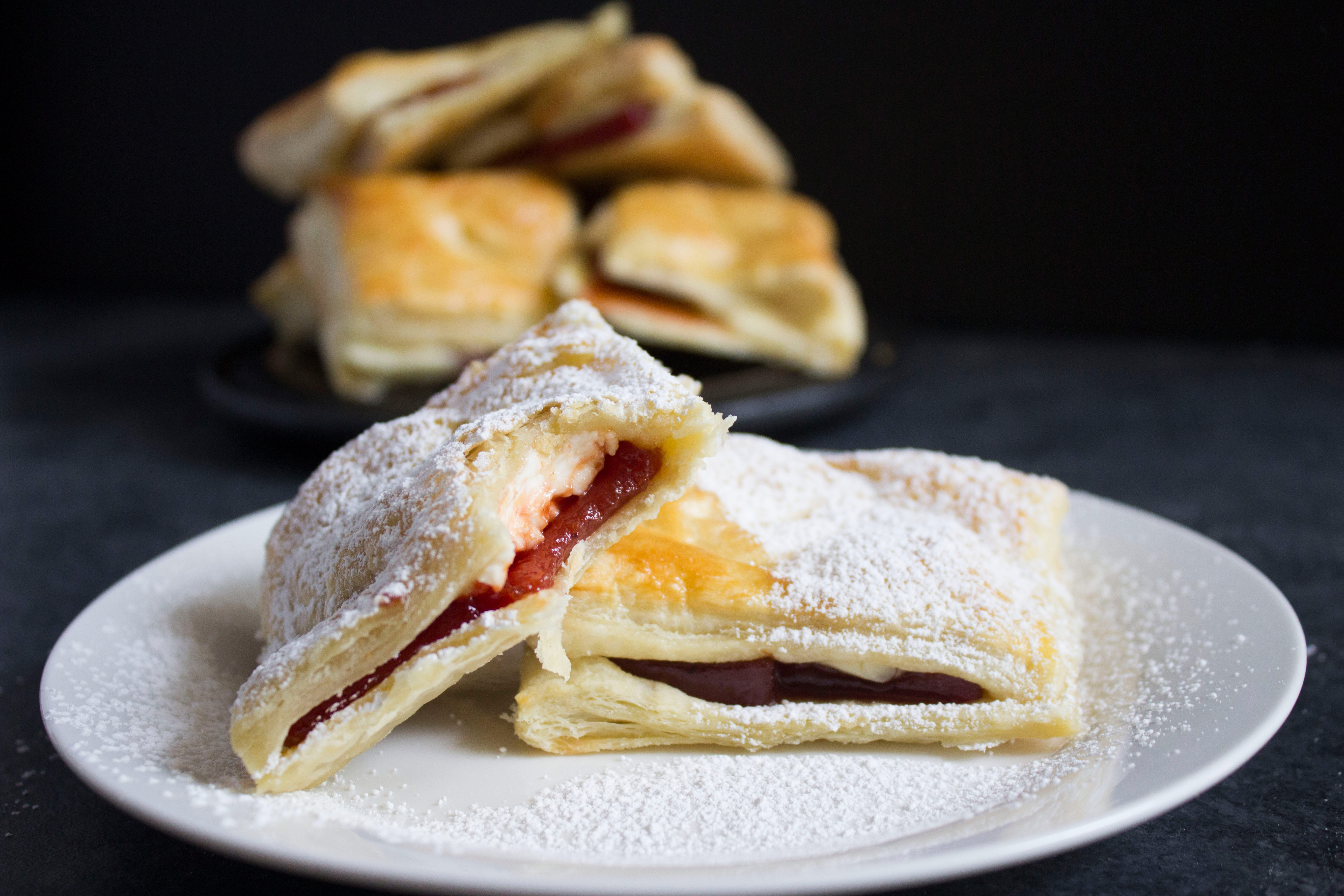 Guava Cream Cheese Pastries