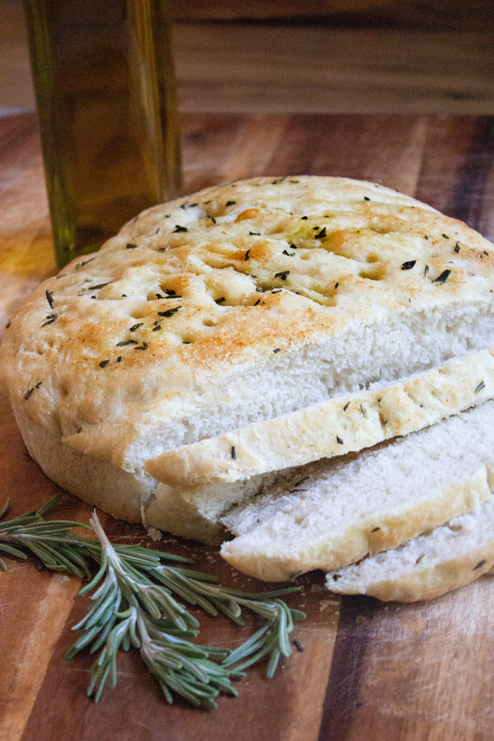Easy Rosemary Focaccia Bread Coco And Ash